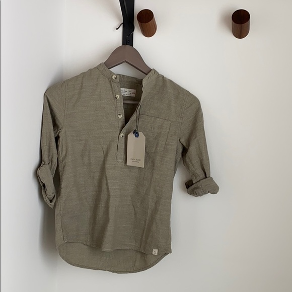 Zara Other - Boys shirt (optional rolled sleeve)